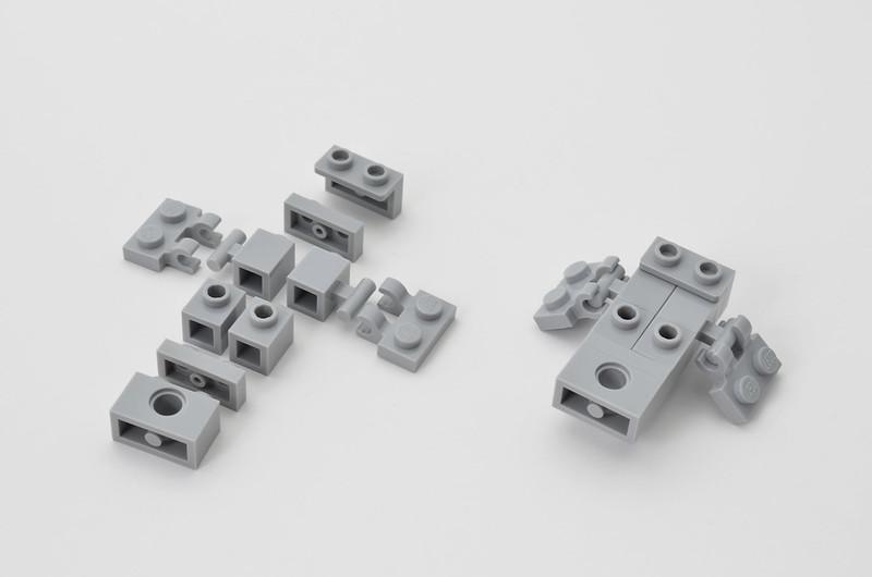 LEGO T-47 Snowspeeder - Micro Speeder Step 1