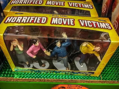 Horrified Movie Victims