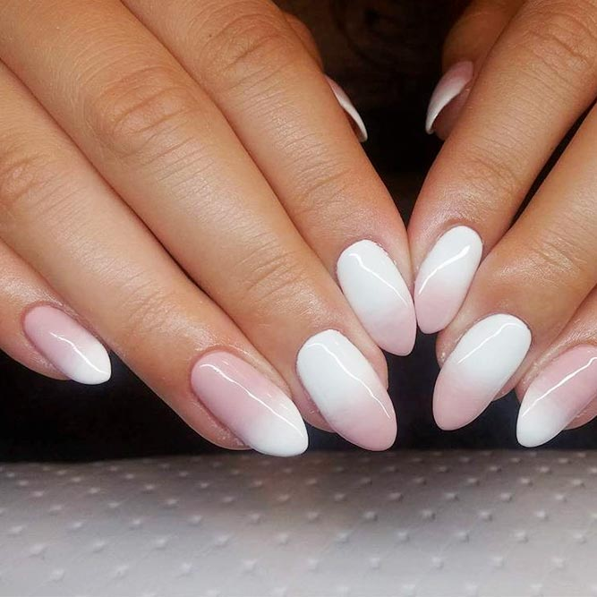 How to do cute ombre nails designs nails c ombre nails with brush prinsesfo Image collections