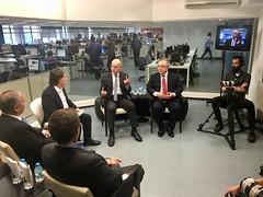 Secretário Marcelo Caetano durante debate sobre a reforma da Previdência promovido pela TV Estadão. 8.fev.2018