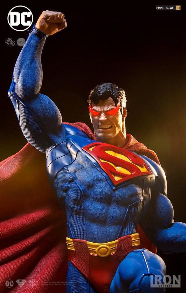 這個肌肉也太可怕了~!Iron Studios Prime Scale 系列【超人】Superman 1/3 比例全身雕像作品