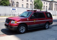 Washington DC Fire Dept - Battalion Cheif 6 - Ford Expedition