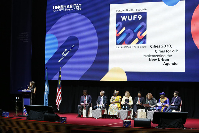 WUF - High Level Roundtables: Urbanization and development 03
