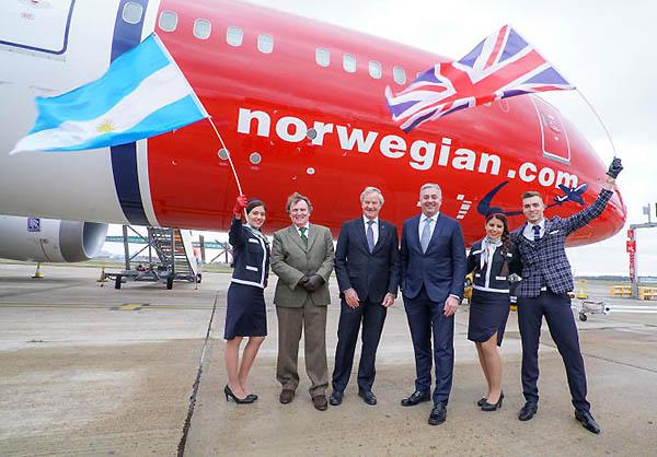 Norwegian inauguracion ruta EZE (Norwegian)