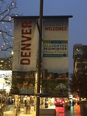 ALA Midwinter signage in Denver