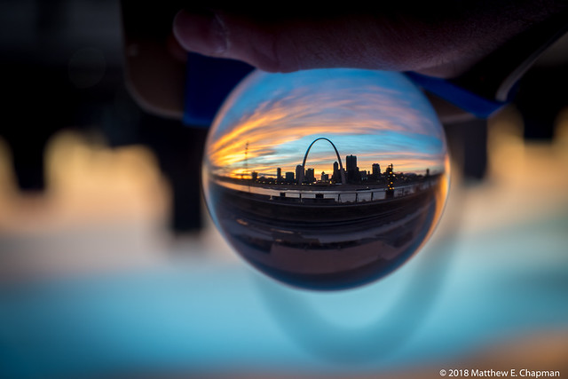 Sunset St. Louis