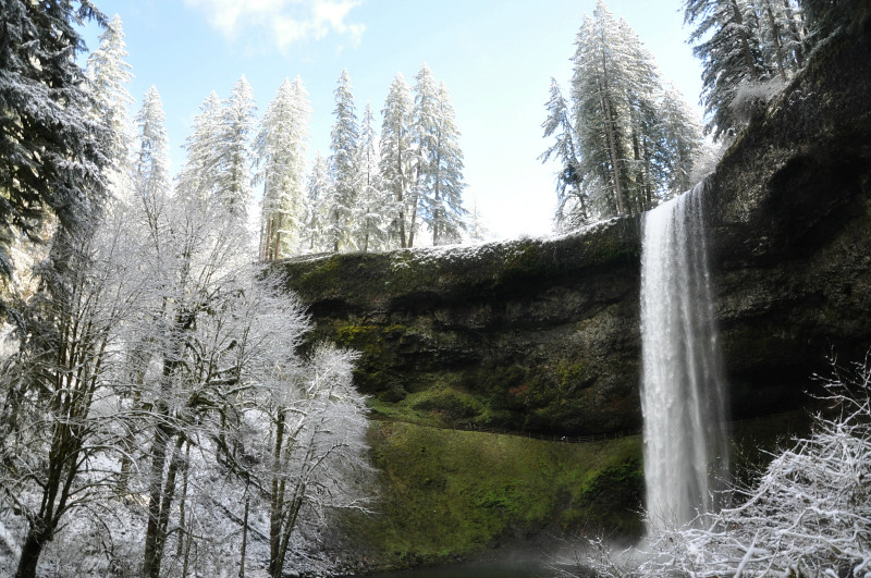 Silver Falls Snow 3 @ Mt. Hope Chronicles