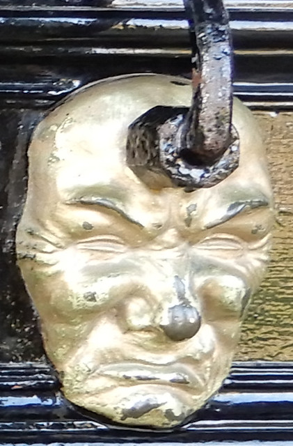 Walton Hall Door Knockers - Grumpy Face