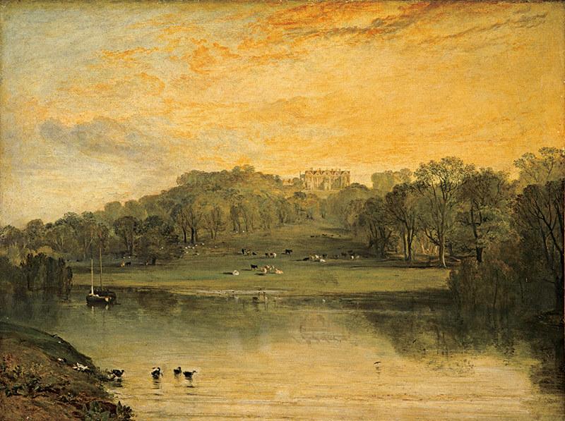 J・M・W・ターナー《ソマーヒル、トンブリッジ》1811年展示 油彩・カンヴァス エディンバラ、スコットランド国立美術館群(C)Trustees of the National Galleries of Scotland