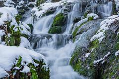 Badger Falls and Snow