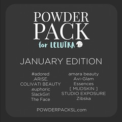 Powder Pack Lelutka January!
