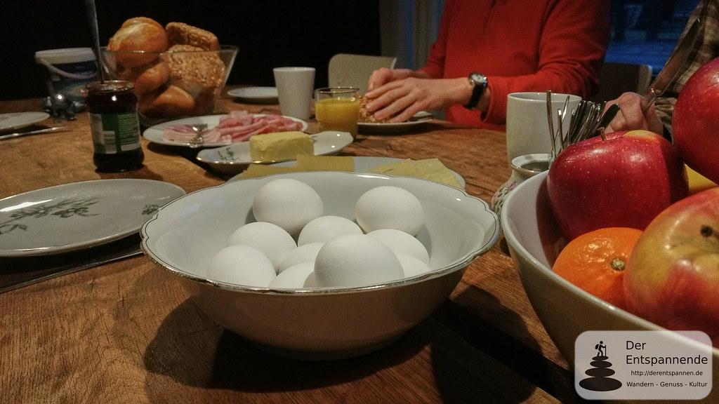 Frühstück in der Strotzbüscher Mühle