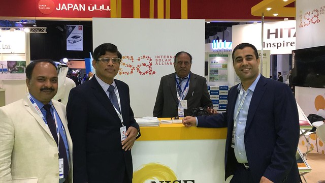 ISA Forum at World Future Energy Summit (WFES) 2018, Abu Dhabi
