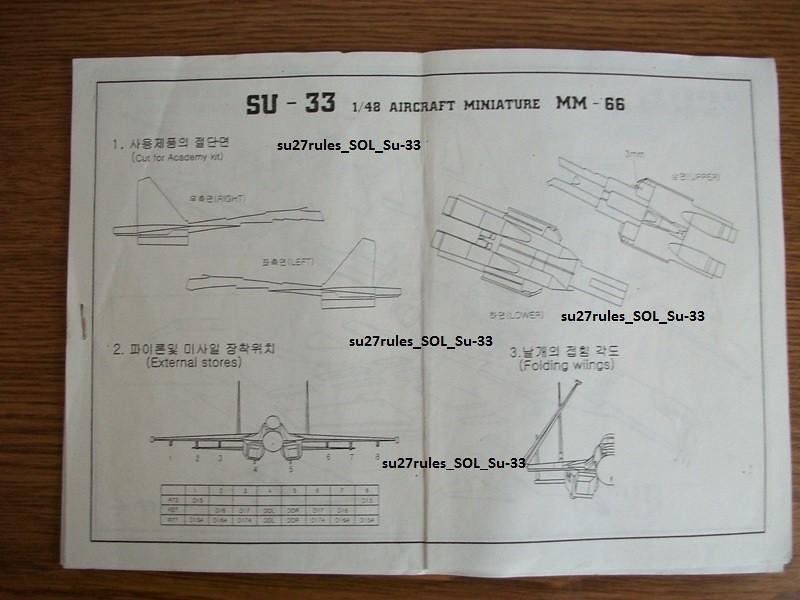 P/M SOL Su-33 1:48 resin set 25226224727_15798514d0_b