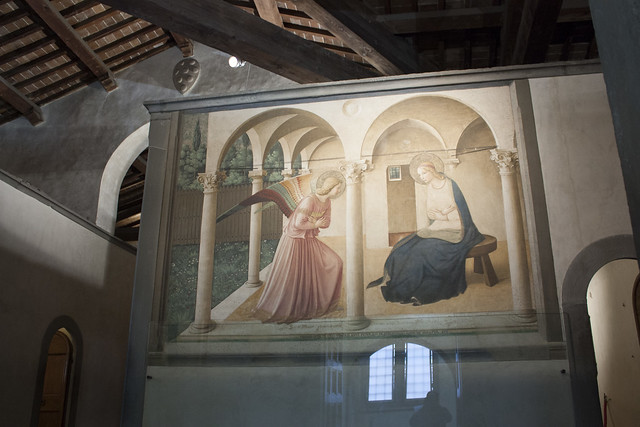 Annunciation by Fra Angelico - San Marco