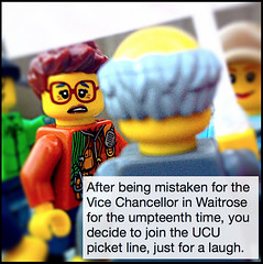 Vice Chancellor joins picket line?
