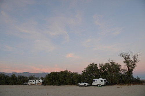 Borrego Springs - Legion the our camping spot sunset