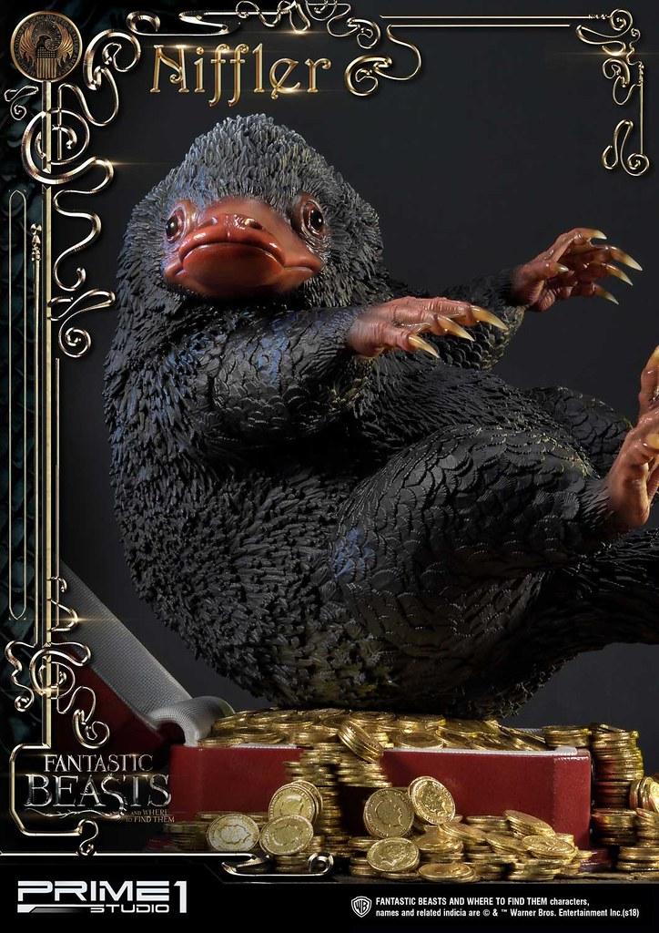 雖然你一直製造麻煩,但因為你實在太可愛了所以原諒你~ Prime 1 Studio《怪獸與牠們的產地》玻璃獸 Niffler ファンタスティック・ビーストと魔法使いの旅  二フラー LSFB-02 全身雕像作品