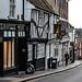 Tudor architecture on George Street - Saint Albans