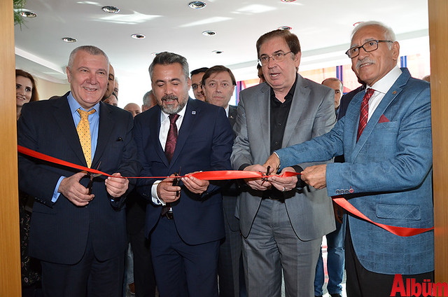 TÜRMOB Genel Sekreteri Dr. Yahya Arıkan, ALSMO Başkanı Kerim Gökçeoğlu, MHP 23. Dönem Antalya Milletvekili Hüseyin Yıldız ve Yeminli Mali Müşavir Mevlüt Güven
