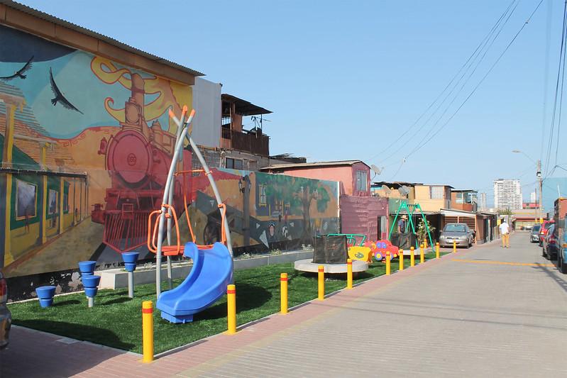 Habilitación Paseo Semi-Peatonal - Barrio Teniente Ibañez - Iquique