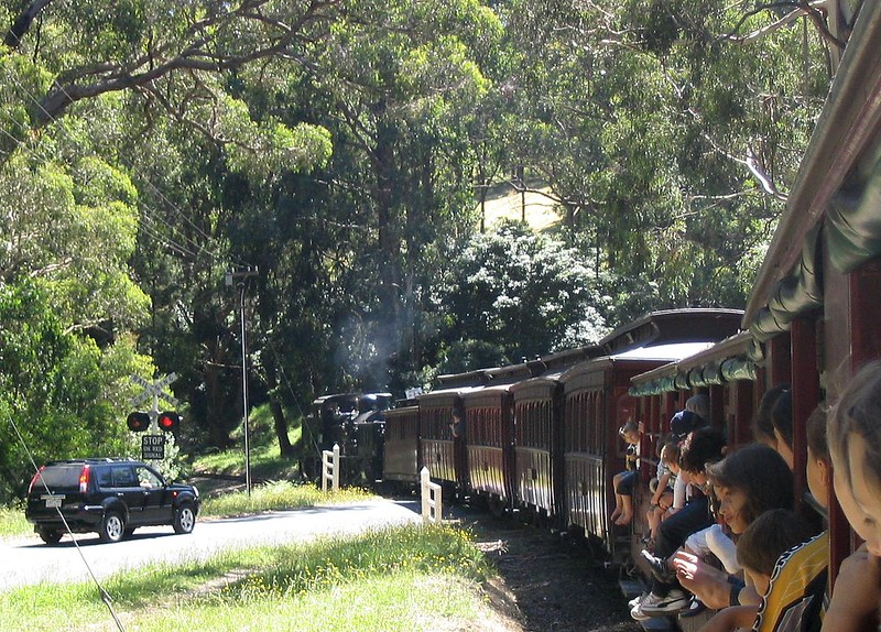 Puffing Billy, January 2008