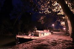 FR10 1016 Quai Edmond Combes. Le bassin du canal du Midi. Castelnaudary, Aude, Languedoc