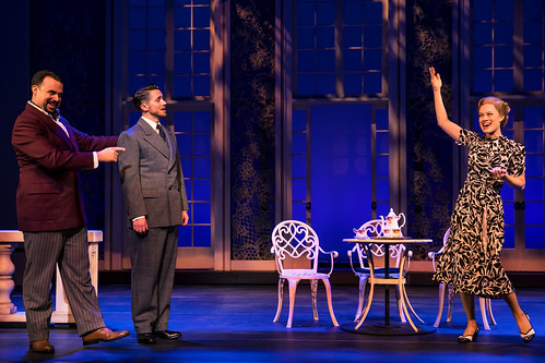 Jake Mills as Max, Mike McLean as Captain von Trapp, and Melissa McKamie as Elsa. Photo by Matthew Murphy. From It Doesn't Matter How Many Times You've Seen the Movie - Here's Why You Need to See Sound of Music on Tour