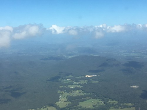 Flying from Port Macquarie to Sydney