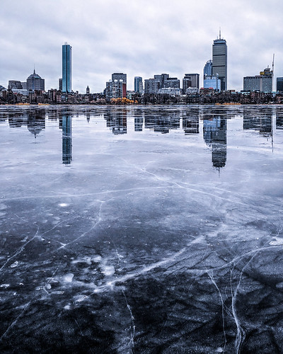 Icy Charles River