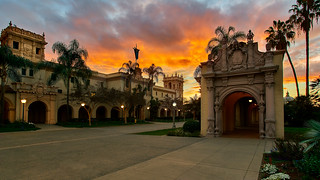 Balboa Park at Sunset 2/13/18 | by tltichy