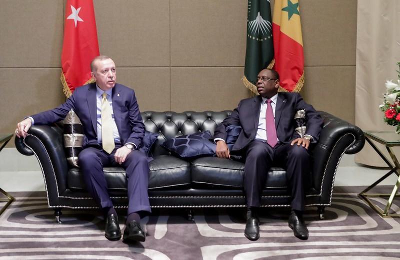 Arrivé du Président de la République de Turquie SEM Recep Tayyip Erdoğan