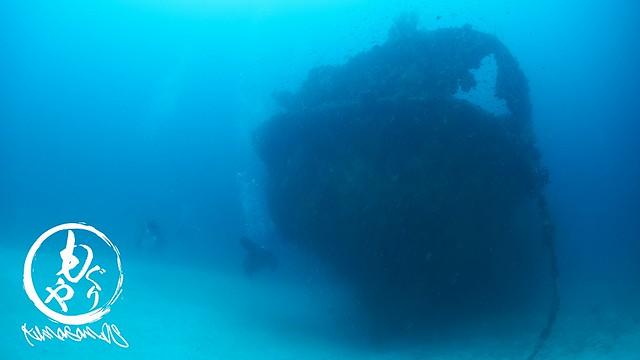 沈船はちら見w ハゼを探しながらアシスタントとまりこ姉さんがはぐれてることに気づく。。