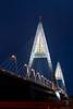 Megyeri Bridge by Gyorgy Petrilla