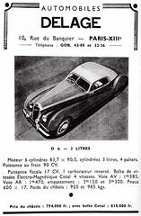 Delage D6 3-Litres (1949-50)