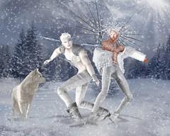 "Virtual Diva Magazine Dec2017 ""Winter's Fury"" Editorial"