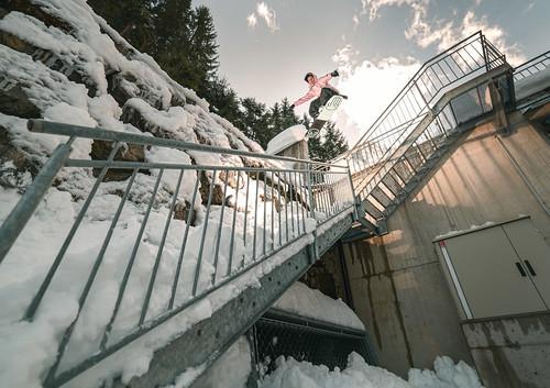 Rado Kapralcik - Fabian Fraidl gapboardslide