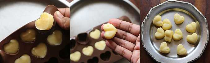 How to make homemade white chocolate recipe - Step7