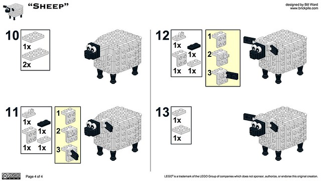 Sheep Instructions 4 of 4