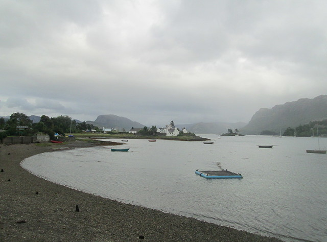 Plockton looking Towards Loch Carron