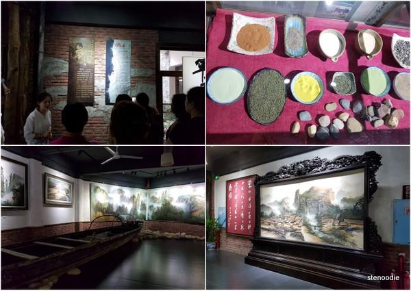 Sandstone painting museum