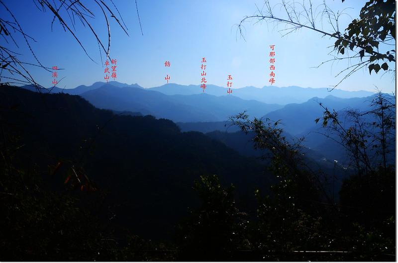 頂石峽山東南眺 2-1
