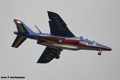 E41 F-TERH 9 - E41 - Patrouille de France - French Air Force - Dassault-Dornier Alpha Jet A - RIAT 2008 Fairford - 070711 - Steven Gray - IMG_7130