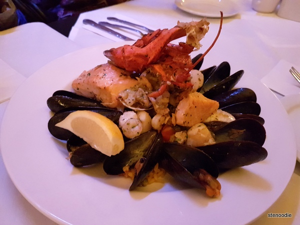 Grilled Fish and Seafood Platter