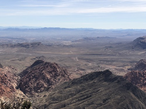 Las Vegas - view from Turtlehead peak