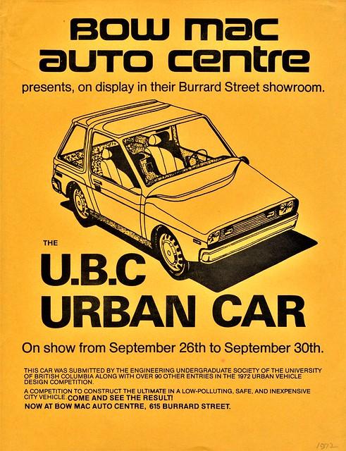 1972 U.B.C. Urban Car (Canada)