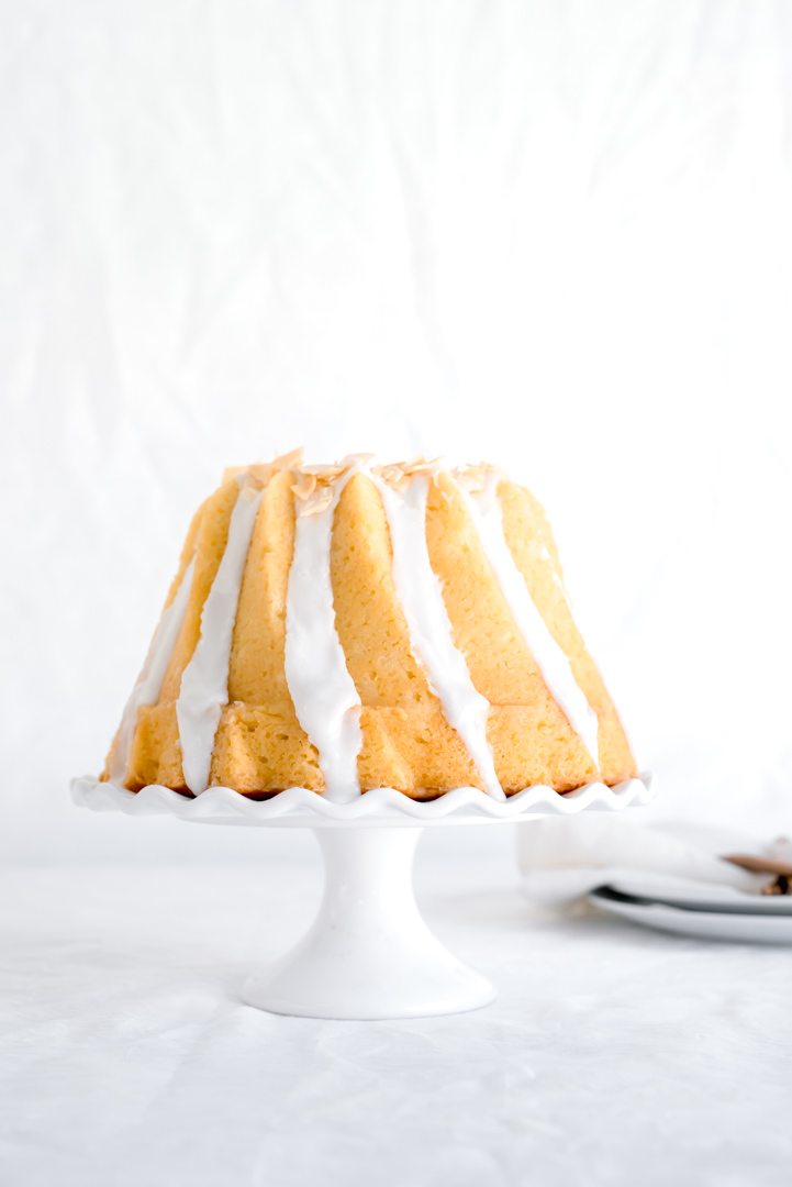 Triple Coconut Bundt Cake www.pineappleandcoconut.com