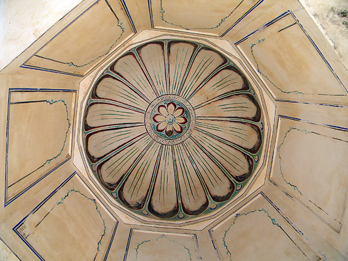Domed ceiling at the Jaipur Cenotaph, India