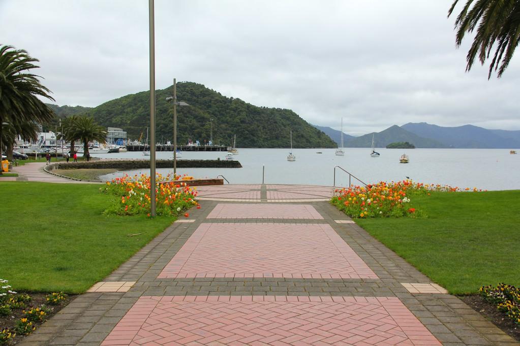 Пиктон - главный хаб Новой Зеландии