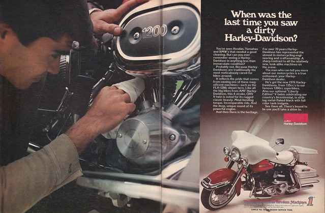 Harley-Davidson FLH1200 1976